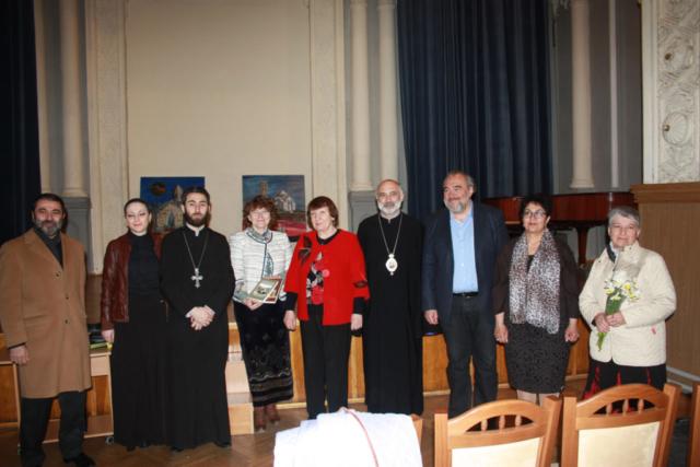 С представителями армянской общины в Украине. 2015. Киев