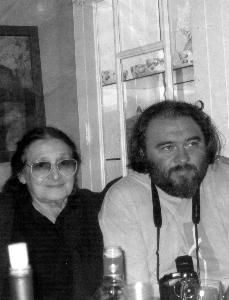У Алины Литинской в Чикаго. 2005
