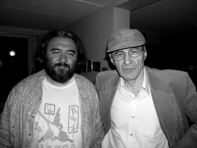 С Павлом Моисеевичем Грушко в Бостоне. 2005