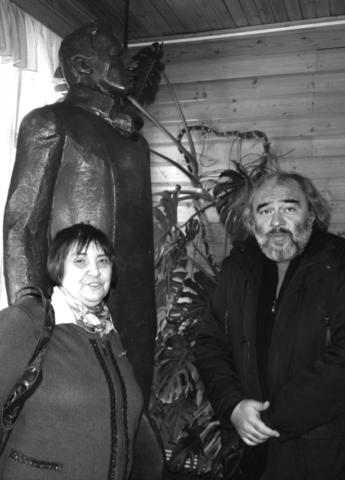 В Доме Бекетовых в Шахматово с Д.М. Магомедовой. 2016
