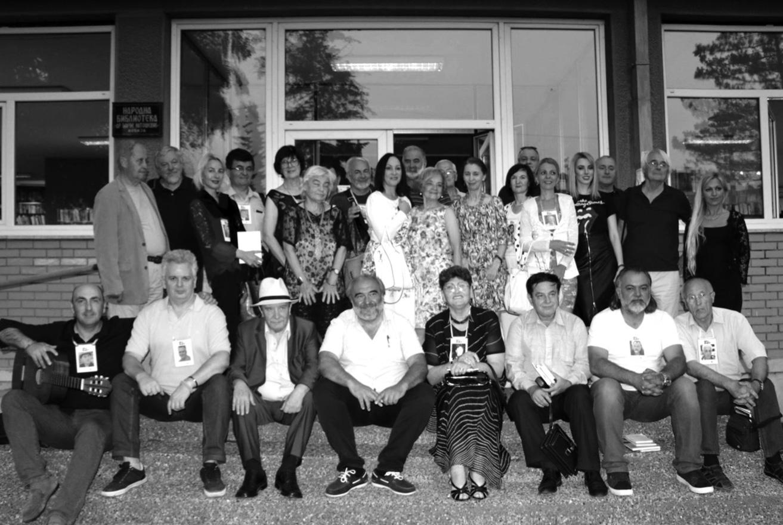 На Международном поэтическом фестивале, посвященном Дунаю, в Сербии. 2018