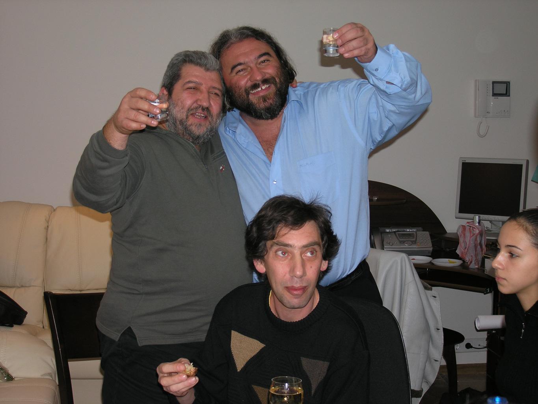С друзьями. Киев. 2005